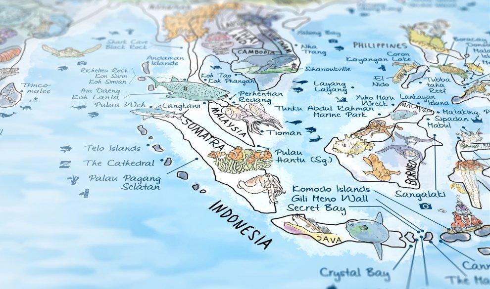 Dive Map