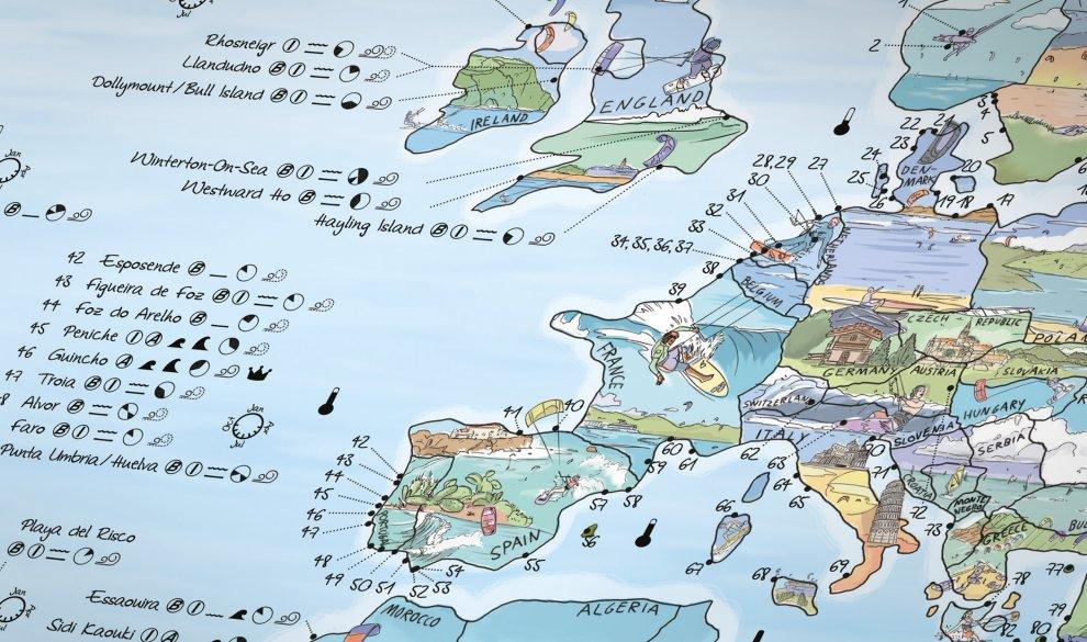 Kitesurf Map EN