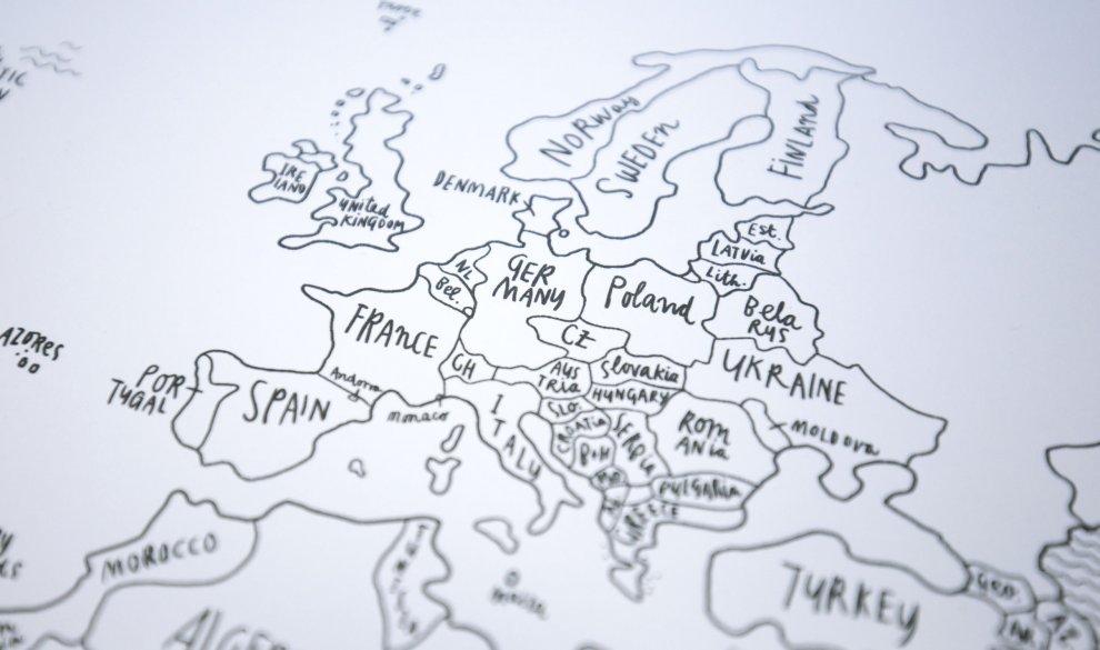 Sketch Map Signature Paper Edition