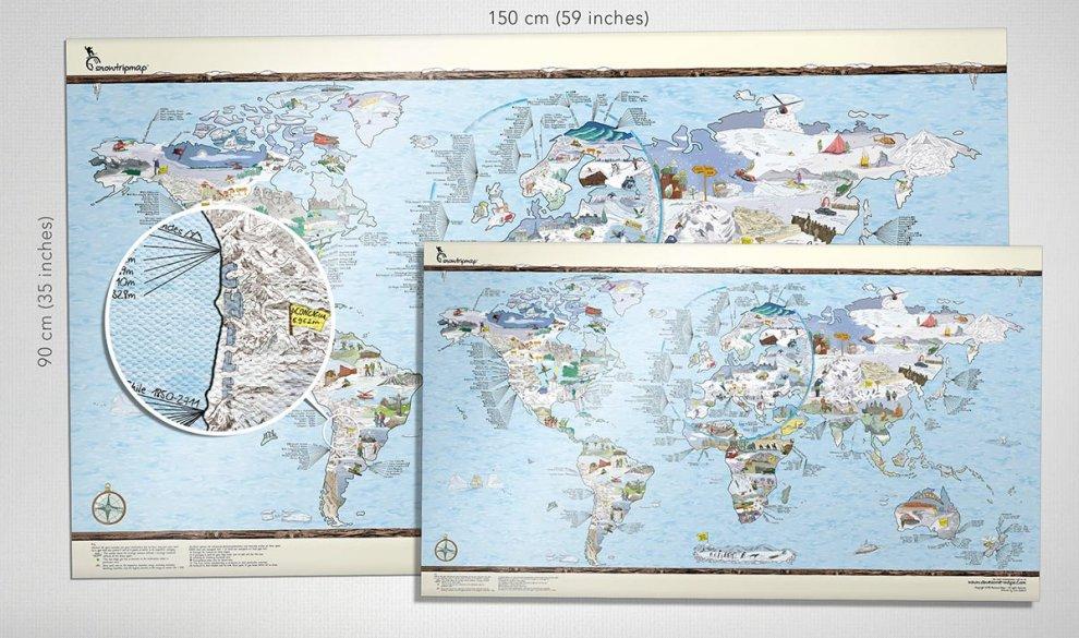 Snowtrip Map Canvas